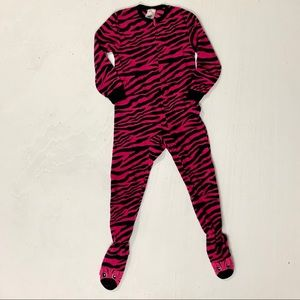 Girl's onesie footed pajamas size XS